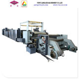Chaîne de production complètement automatique de papier de livre d'exercice de piquer de fil de deux bobines machine de Ld1020p