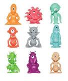 아이들 장난감이 팽창식 다채로운 도매 작은 PVC 플라스틱 외국인에 의하여 농담을 한다
