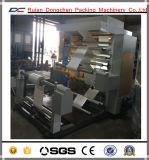 Machine d'impression de Flexo de couleurs de la vitesse 6 pour le roulis de film de PVC du PE pp (NX-B)
