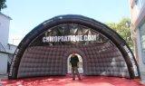 Demi de tente de publicité gonflable extérieure de dôme