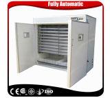 La volaille commerciale approuvée de la CE penchent la machine d'incubateur d'oeufs