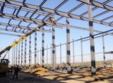 Полуфабрикат мастерская стальной структуры с краном