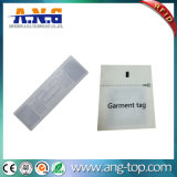 Etiqueta lavable de la ropa de la frecuencia ultraelevada RFID de la tela para la gerencia de los almacenes de la ropa