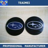 etiqueta da roda de carro da peça de automóvel da etiqueta do corpo de 4PC 55mm para carros
