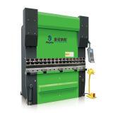 We67k 125t/3200는 자동 귀환 제어 장치 통제되는 동시 CNC 구부리는 기계 이중으로 한다