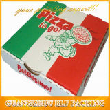 Caixa de empacotamento da alta qualidade do papel de embalagem da pizza