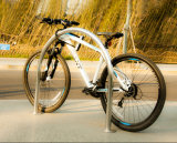 U schreiben Edelstahl-Fahrrad-Standplatz-Fahrrad-Zahnstangen
