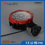 Luz de trabajo campo a través del CREE 51W LED de Epistar para los carros