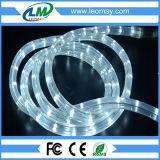Luz horizontal de la cuerda de la vertical LED de 2 alambres de la luz redonda LED de la cuerda