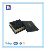 Boîte-cadeau de bracelet avec le fini de estampage chaud de logo d'or