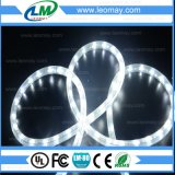Du fil IP65 lumière ronde de corde de la verticale DEL Christmas2 à haute tension