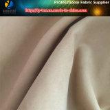 Polyester/Nylonpfirsich-Haut, Polyester-&Nylon gemischtes Gewebe mit Sueded für Kleid