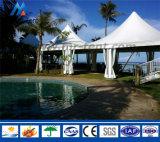 6X6m Aluminium Feld-Pagode-Zelt mit Belüftung-Wänden