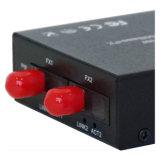 Interruptor de red Unmanaged del acceso de Ethernet de la fibra de 5 accesos