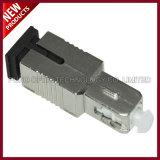고쳐진 감쇠기 여성 단일 모드에 광섬유 SC UPC 여성은 플랜지를 붙였다