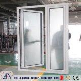 Porte d'oscillation en métal/porte française en aluminium/porte articulée par aluminium