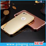 Caso de alumínio de Smartphone do espelho do metal para o iPhone 7 7plus