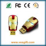 Le lecteur flash USB d'homme de fer de héros de ligue de justice le plus neuf