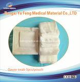 使い捨て可能な使用のための殺菌の袋のパックのガーゼの綿棒