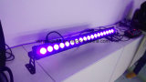 Impermeável IP 65 18X15W RGBWA + UV 6 em 1 LED Wall Washer Outdoor Light