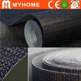 Het natuurlijke Materiële Behandelen van de Muur, Hand - gemaakt Milieuvriendelijk Behang Grasscloth