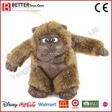 Gorila suave realista del juguete del animal relleno En71