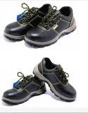 De echte Schoenen Van uitstekende kwaliteit van de Veiligheid van de Teen van het Staal van het Leer