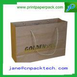 Sac de cadeau estampé par OEM de papier d'emballage de sac à provisions