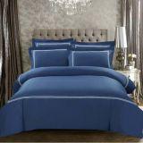 Установленные постельные принадлежности вышивки египетского хлопка собрания дома сини военно-морского флота самые лучшие (DPF10703)