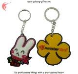 Geformtes weiches Kurbelgehäuse-Belüftung Keychain für Geschenke (YH-KC007)
