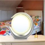 Двойные стороны и круглая форма осветили зеркало тщеты состава увеличения СИД 7 времен освещенное косметикой
