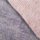 Deux faces de tissus de laine et d'acétate de cellulose