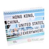 Calendário de aniversário personalizado de papel de tamanho personalizado
