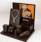 Montre d'affichage à bijoux en forme de L