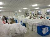 Wegwerfcleanroom-Labormantel-flüssiger beständiger Overall
