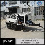 Jt200y Portable Trailer montado pequenas perfuradoras