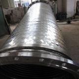 Flexibler Schlauch-Metall gerunzelt mit Einfassung