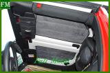 Garniture molle d'isolation thermique de la chaleur pour des portes du Wrangler 2 de jeep 12-16