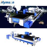 Découpage de laser de fibre d'acier inoxydable de commande numérique par ordinateur/tôle