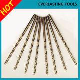 Буровые наконечники закрутки кобальта металла DIN340 Drilling