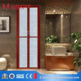 Intérieur en aluminium de PVC de Foshan glissant la porte se pliante de salle de bains