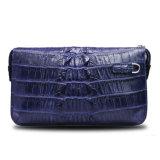 Mann-Krokodil-Handtasche-echtes Lederwristlet-Geschäfts-Beutel