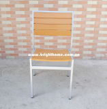 Outdoor Chair Aluminum Plastic Wood