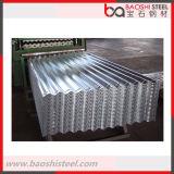 Anticorrosão forte folhas de alumínio usadas da telhadura do zinco ondulado