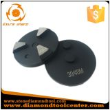diamante de moedura concreto do metal de 80mm 10 Segs com Pin 2