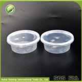 Einspritzung-Wegwerfplastiksoße-Cup mit eingehängten Kappen