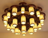 Потолочная лампа белой тени матированного стекла B20-631 декоративная