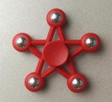 指の紡績工の反圧力手の紡績工5の星デザイン