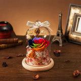 Flor natural hecha a mano para la decoración de la Navidad del recuerdo