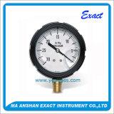 Manómetro do Calibrar-Petróleo da pressão do Manómetro-Vácuo de Compond